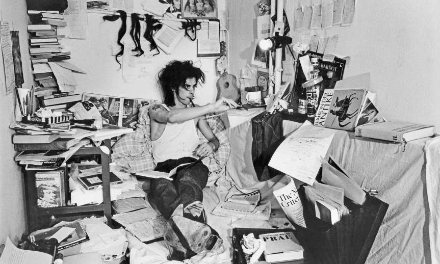 Nick Cave's inspiration: pictures and notes from hisarchive