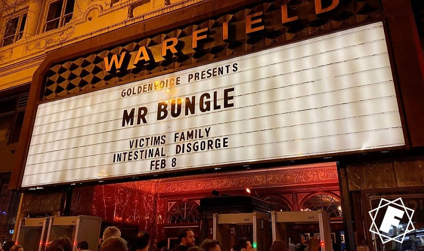 Mr. Bungle – Live @ Warfield, San Francisco/CA (February 8, 2020)