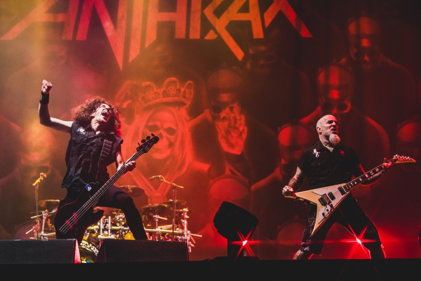 Caught in a mosh – Anthrax