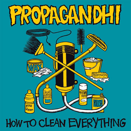 Stick that fuckin' flag up your goddam ass, you son of a bitch – Propagandhi