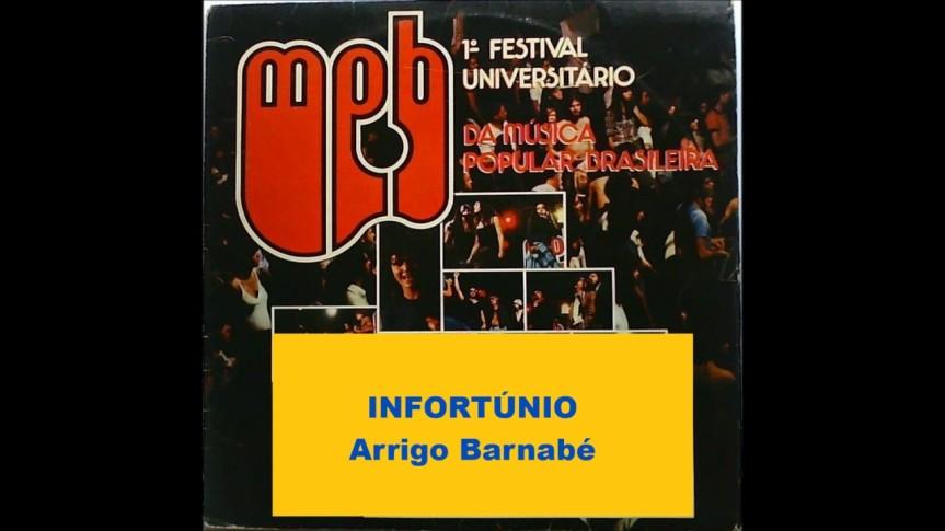 """Arrigo Barnabé apresenta """"Infortúnio"""" no Festival Universitário da MPB(1979)"""