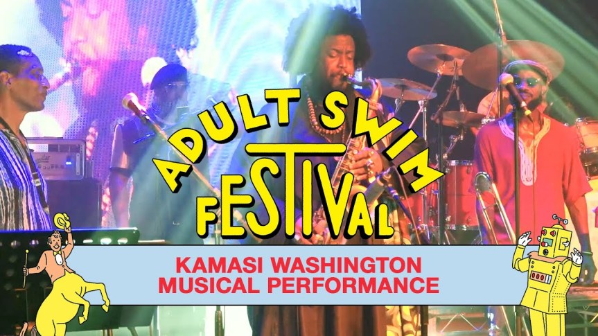 KAMASI WASHINGTON @ Adult Swim Festival (2020)