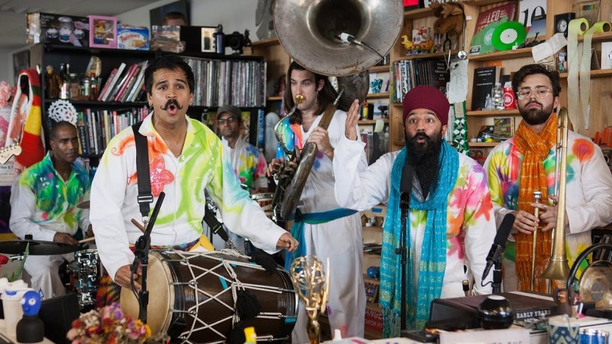 RED BARAAT – NPR Music Tiny Desk Concert
