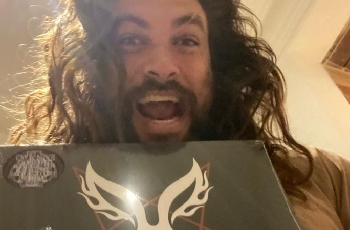 Jason Momoa Sends His Love To Scott Ian And Mr. Bungle