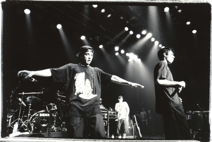 BEASTIE BOYS live in Glasgow (1999)