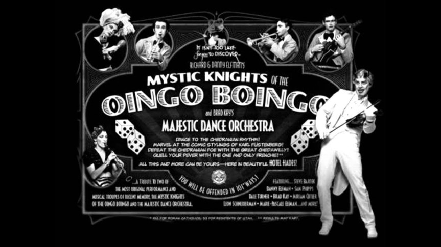 OINGO BOINGO FAREWELL – A Brief History: Mystic Knights of the Oingo Boingo