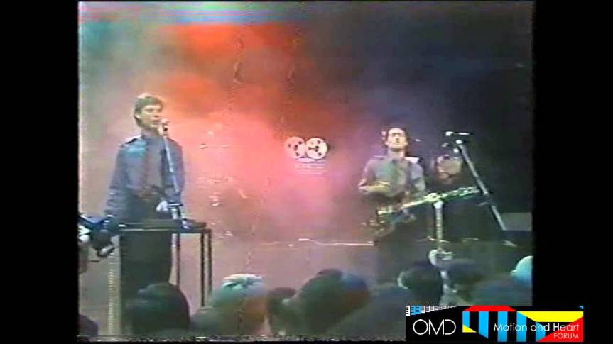 Electricity (live) – ORCHESTRAL MANOEUVRES IN THE DARK