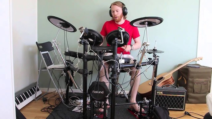 DAFT PUNK – Contact (Drum Cover by Tobbe Gustafson)
