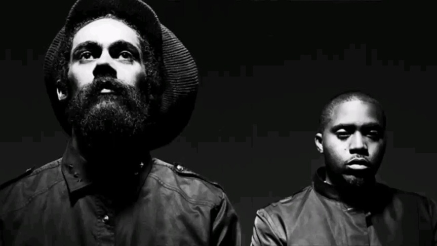 As We Enter – NAS & DAMIAN MARLEY