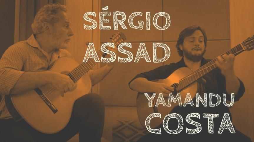 Visita boa: Sérgio Assad e YamanduCosta