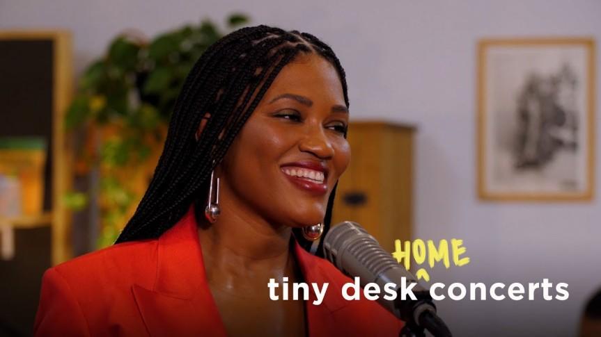 Tiny Desk Meets Afropunk: LUEDJILUNA