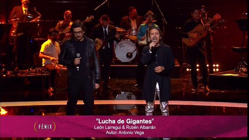 Lucha de Gigantes (live) – RUBÉN ALBARRÁN & LEÓNLARREGUI
