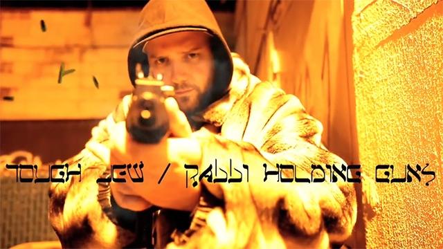 NECRO (JEWISH GANGSTERS) – Tough Jew / Rabbi HoldingGuns