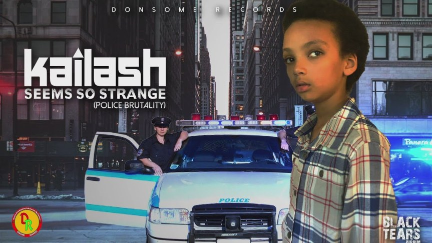 KAILASH: 9 y.o. singer tackles the issue of police brutality on his debut reggae single'Seems So Strange (Police Brutality)'