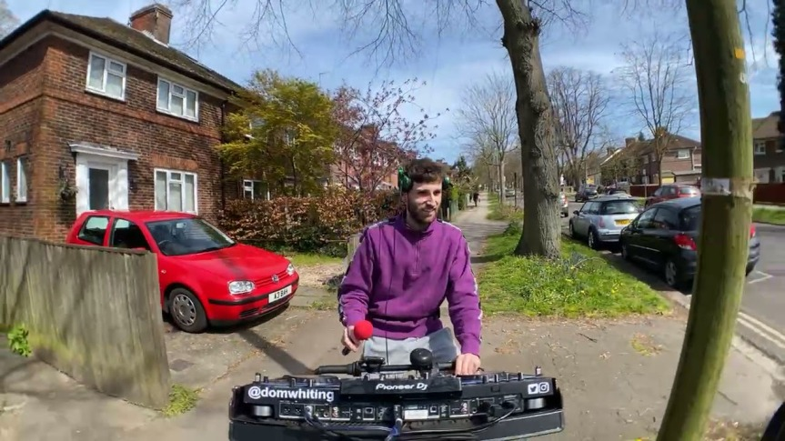 Drum & Bass On The Bike Riding to Oxford – DOMWHITING