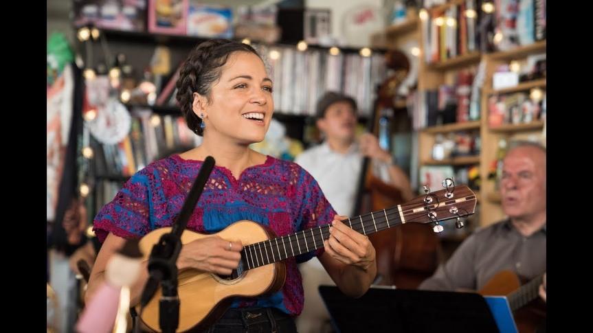 NATALIA LAFOURCADE – Live on NPR Music Tiny DeskConcert