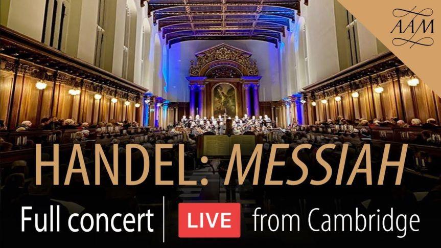 Handel's Messiah – BARNABY SMITH, ACADEMY OF ANCIENT MUSIC, VOCES8,APOLLO5