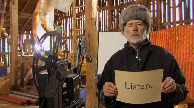 R. MURRAY SCHAFER:Listen