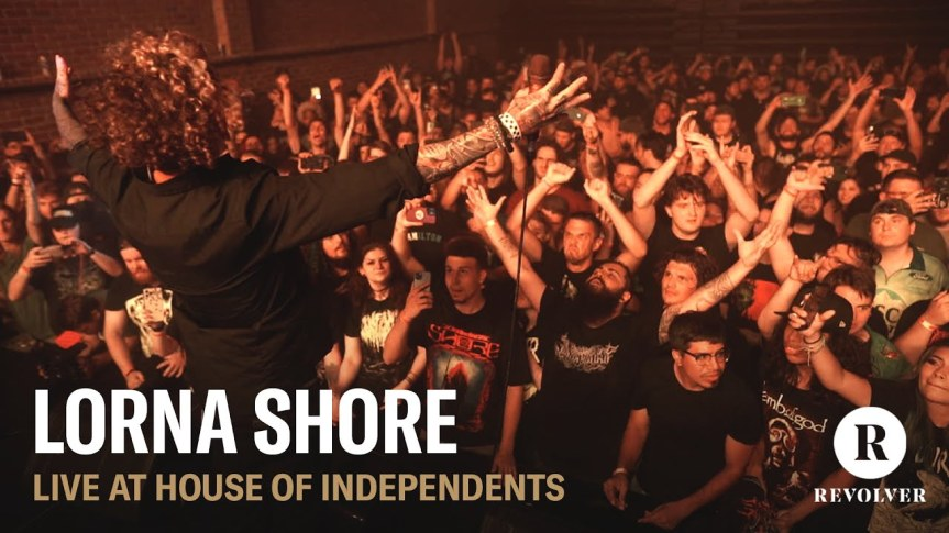 LORNA SHORE – Live @ House ofIndependents