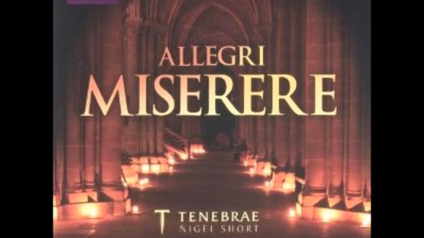 Miserere mei, Deus – TENEBRAE (conducted by NigelShort)