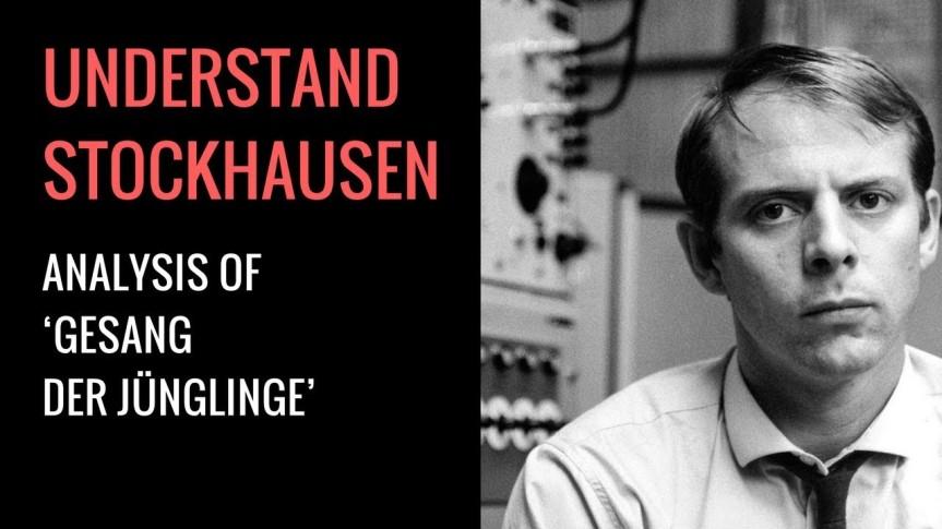 Karlheinz Stockhausen's Gesang der Jünglinge:Analysis