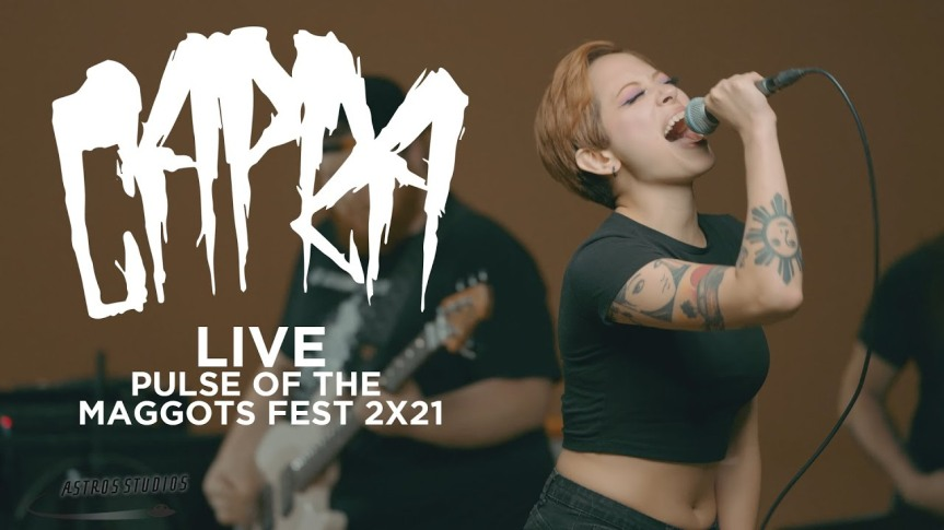 "CAPRA – ""Pulse of the Maggots"" Fest Performance(live)"